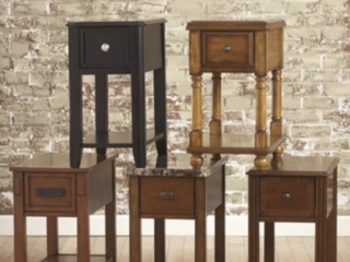 Chairside Tables Available in 5 styles!